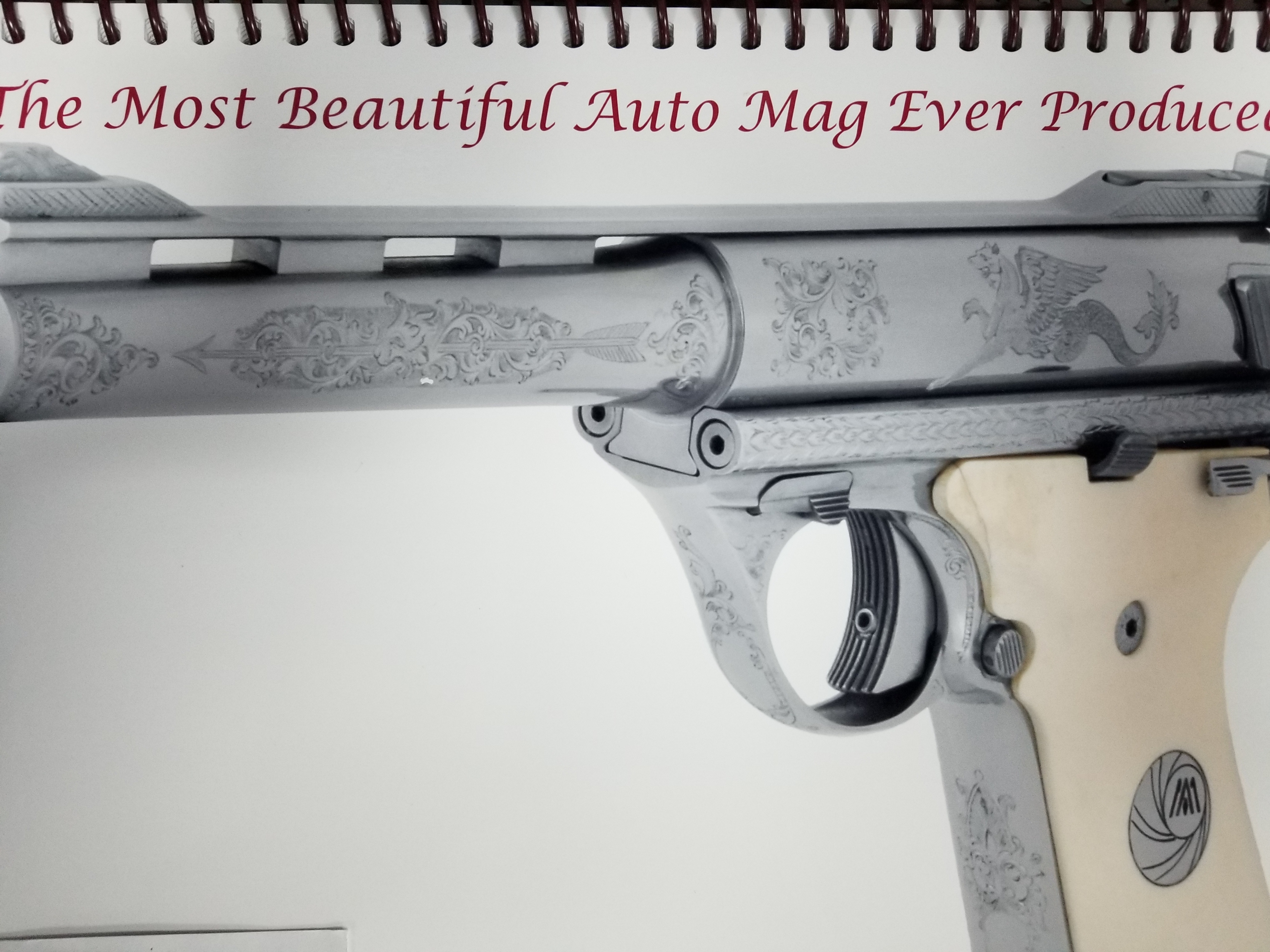 60 - Auto Mag Custom Engraving Service